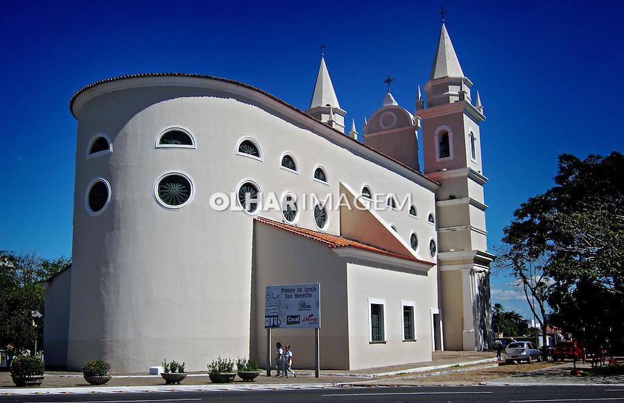 Igreja de Sao Benedito em Teresina. Piaui. 2012. Foto de Carlos Ebert.