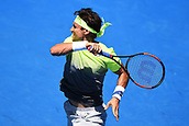 8th January 2018, ASB Tennis Centre, Auckland, New Zealand; ASB Classic, ATP Mens Tennis;  David Ferrer (ESP) during the ASB Classic ATP Men's Tournament Day 1