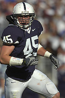 13 October 2007:  Penn State LB Sean Lee (45)..The Penn State Nittany Lions defeated the Wisconsin Badgers 38-7 October 13, 2007 at Beaver Stadium in State College, PA..