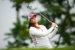 CHON BURI, THAILAND - FEBRUARY 17:  Chella Choi of South Korea tees off on the 12th hole during day two of the LPGA Thailand at Siam Country Club on February 17, 2012 in Chon Buri, Thailand.  Photo by Victor Fraile / The Power of Sport Images