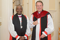 Michael B. Curry & Kenneth A. Kearon. A Service of Evensong Together with the Conferral of Honorary Degrees. 20 October 2015. Berkeley Divinity School at Yale University.