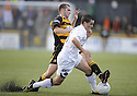 25/08/2009  Copyright  Pic : James Stewart.sct_jspa08_alloa_v_dundee_utd  .JOHN GRANT AND CRAIG CONWAY.James Stewart Photography 19 Carronlea Drive, Falkirk. FK2 8DN      Vat Reg No. 607 6932 25.Telephone      : +44 (0)1324 570291 .Mobile              : +44 (0)7721 416997.E-mail  :  jim@jspa.co.uk.If you require further information then contact Jim Stewart on any of the numbers above.........