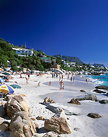 South Africa, Cape Town, Clifton Beach at Bantry Bay
