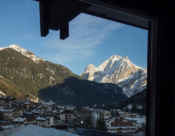Ciampac Ski Area, Canazei, Italy,