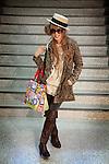 (Eng) Tokyo, March 8, 2010 - At the &quot;109&quot; shop in the Shibuya district. Noriko, 22, comes often for her shopping in this fashion temple.<br /> <br /> (Fr)Tokyo, 8 mars 2010 - Au &quot;109&quot; dans le quartier de Shibuya. Noriko 22 ans, vient de faire ses achats dans ce temple de la mode tokyoite.