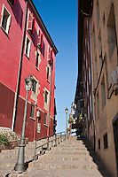 Europe/Espagne/Pays Basque/Guipuscoa/Goierri/Ordizia: demeures du quartier historique