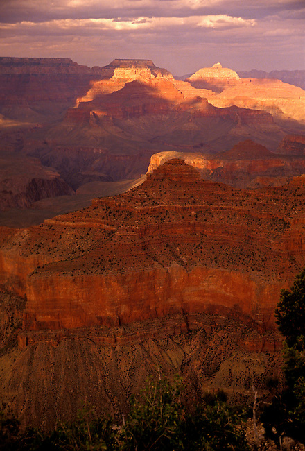 View from Yavapai Point, South Rim of Grand Canyon National Park, Arizona, United States, North America