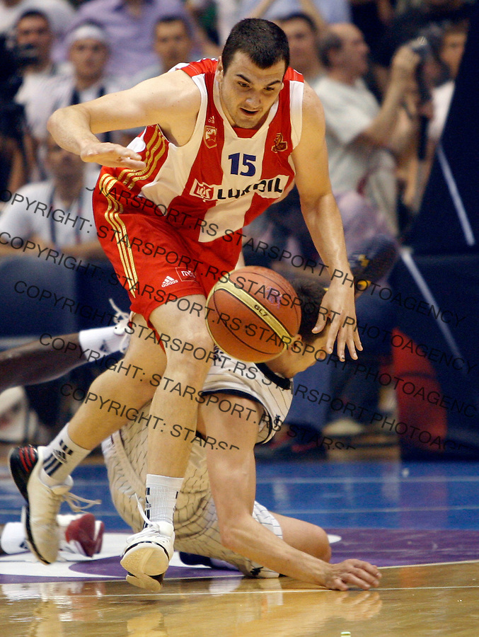 Sava Lesic, Agroziv superliga, Partizan - Crvena Zvezda play off 3  kosarka, basketball, Belgrade, Serbia, 12 June 2012. Belgrade, Serbia (credit: Pedja Milosavljevic/thepedja@gmail.com/+381641260959)