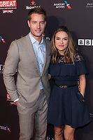 Justin Hartley (l) and Chrishell Stause attend the BAFTA Los Angeles Awards Season Tea Party at Hotel Four Seasons in Beverly Hills, California, USA, on 06 January 2018. Photo: Hubert Boesl - NO WIRE SERVICE - Photo: Hubert Boesl/dpa /MediaPunch ***FOR USA ONLY***