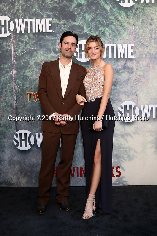 """LOS ANGELES - MAY 19:  Jesse Bradford, Andrea Leal at the """"Twin Peaks"""" Premiere Screening at The Theater at Ace Hotel on May 19, 2017 in Los Angeles, CA"""