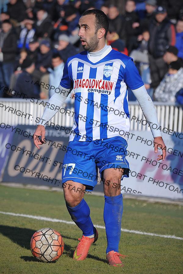 Fudbal Jelen Super League season 2016-2017<br /> Novi Pazar v Spartak<br /> Slavko Maric<br /> Novi Pazar, 4. 12. 2016<br /> foto: Emir Sadovic/Starsportphoto &copy;