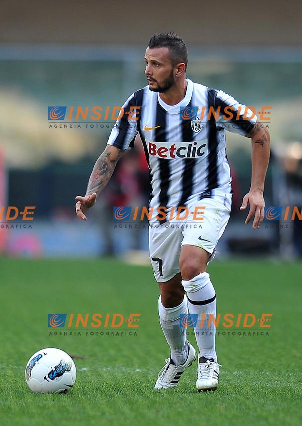 "Simone PEPE (Juventus).Verona 16/10/2011 Stadio ""Marcantonio Bentegodi"".Serie A 2011/2012.Football Calcio Chievo Verona Vs Juventus.Foto Insidefoto Alessandro Sabattini."