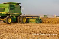 63801-08004 Soybean Harvest John Deere combine Marion Co. IL