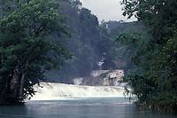 Agua Azul waterfalls in Chiapas, Mexico