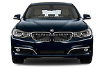 Straight front view of a 2013 Bmw SERIES 3 Luxury 5 Door Hatchback 2WD