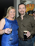 Graham O'Rourke celebrating his 40th birthday in the d hotel with his wife Louisa. Photo:Colin Bell/pressphotos.ie