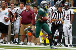 09/17/11-- Oregon running back De'Anthony Thomas runs down the sidleine in front of Missouri State at Autzen Stadium in Eugene, Or....Photo by Jaime Valdez. ..............................................