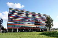 Nederland Utrecht - 2018. Utrecht Science Park (De Uithof). Hogeschool Utrecht.  Het gebouw is een ontwerp van Ector Hoogstad Architecten. Foto Berlinda van Dam / Hollandse Hoogte