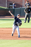 Steven Chatwood, San Diego Toreros in a series at Arizona State University, 4/5 - 4/6/2010 .Photo by:  Bill Mitchell/Four Seam Images.