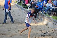 FIERLJEPPEN: IT HEIDENSKIP: 13-08-2014, ©foto Martin de Jong