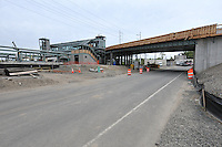 Construction Progress Railroad Station Fairfield Metro Center - Site visit 23 of once per month periodic photography