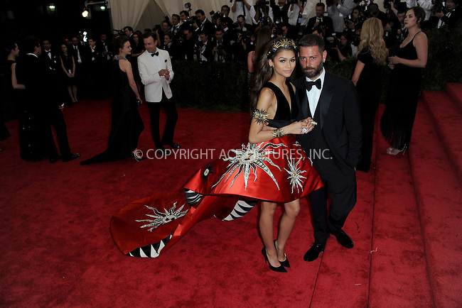 WWW.ACEPIXS.COM<br /> May 4, 2015...New York City<br /> <br /> Zendaya attending the Costume Institute Benefit Gala  celebrating the opening of China: Through the Looking Glass at The Metropolitan Museum of Art on May 4, 2015 in New York City.<br /> <br /> Please byline: Kristin Callahan<br /> ACEPIXS.COM<br /> Tel# 646 769 0430<br /> e-mail: info@acepixs.com<br /> web: http://www.acepixs.com