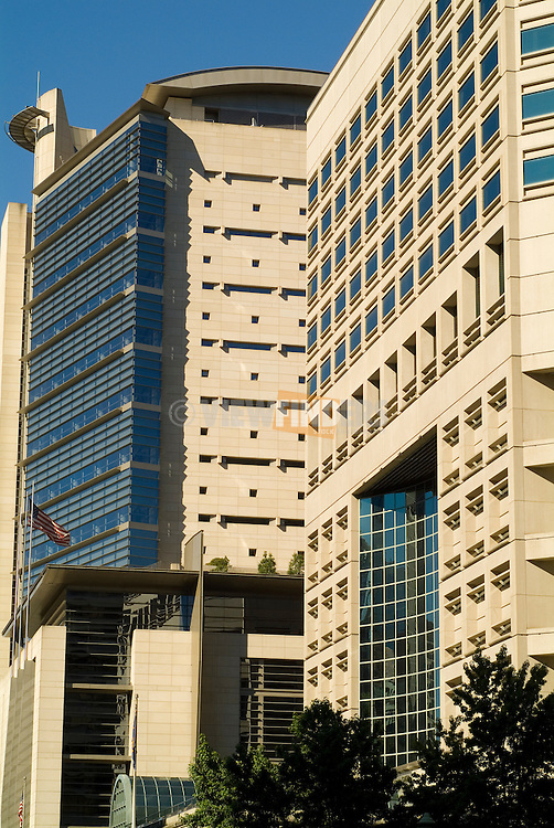 The Justice Center and the Mark O. Hatfield Courthouse