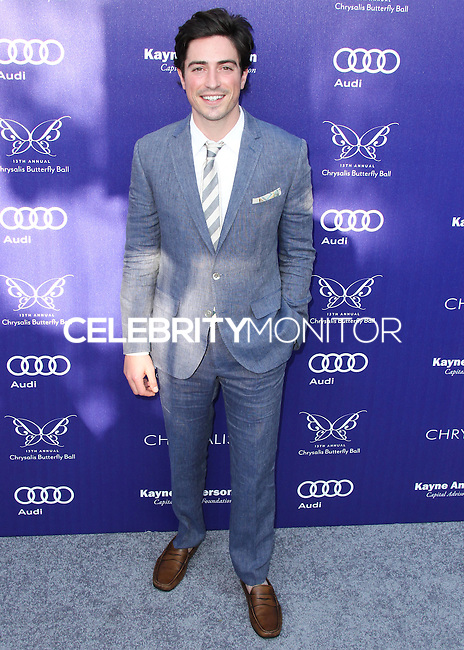 BRENTWOOD, LOS ANGELES, CA, USA - JUNE 07: Ben Feldman at the 13th Annual Chrysalis Butterfly Ball held at Brentwood County Estates on June 7, 2014 in Brentwood, Los Angeles, California, United States. (Photo by Xavier Collin/Celebrity Monitor)