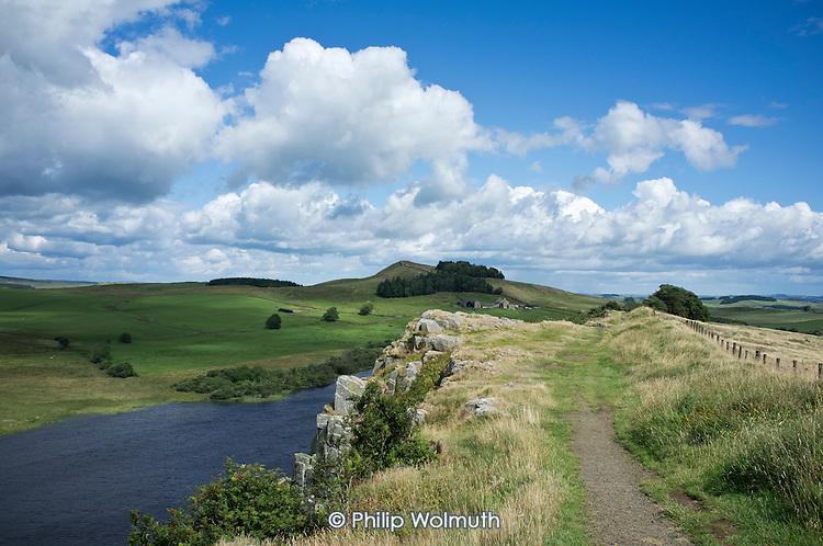 Hadrian's Wall, Northumberland.