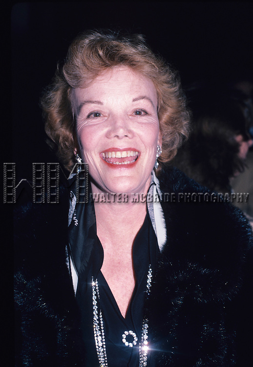Nanette Fabray photographed in 1980 in New York City. © Walter McBride / Retna Ltd.