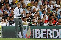 02.09.2012 SPAIN -  La Liga 12/13 Matchday 3th  match played between Real Madrid CF vs  Granada C.F. (3-0) at Santiago Bernabeu stadium. The picture show Jose Mourinho  coach of Real Madrid