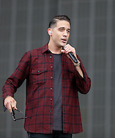 G-EASY performs during The New Look Wireless Festival at Finsbury Park, London, England on 28 June 2015. Photo by Andy Rowland.