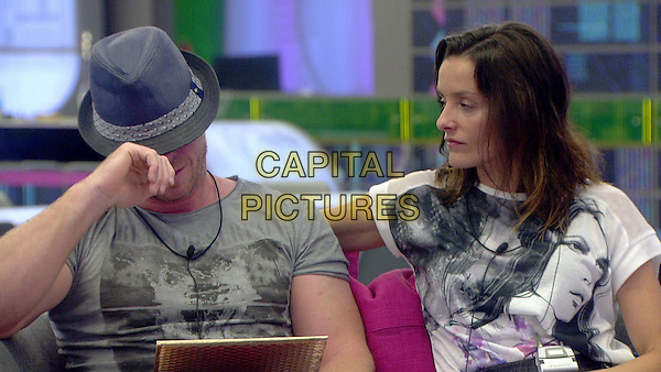 James Jordan, Edele Lynch<br /> in Celebrity Big Brother - Summer 2014 (Day 2)<br /> *Editorial Use Only*<br /> CAP/NFS<br /> Image supplied by Capital Pictures