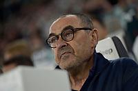 30th October 2019; Allianz Stadium, Turin, Italy; Serie A Football, Juventus versus Genoa; Maurizio Sarri, the coach of Juventus - Editorial Use