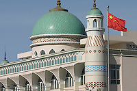 The Koran Scripture Institute in Urumqi, Xiangjiang Uighur Autonomous Region, China. 16-SEP-04