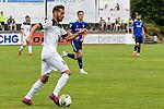 01.08.2020, C-Team Arena, Ravensburg, GER, WFV-Pokal, FV Ravensburg vs SSV Ulm 1846 Fussball, <br /> DFL REGULATIONS PROHIBIT ANY USE OF PHOTOGRAPHS AS IMAGE SEQUENCES AND/OR QUASI-VIDEO, <br /> im Bild Nicolas Jann (Ulm, #21)<br /> <br /> Foto © nordphoto / Hafner