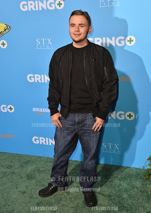 Prince Jackson at the world premiere for &quot;Gringo&quot; at the L.A. Live Regal Cinemas, Los Angeles, USA 06 March 2018<br /> Picture: Paul Smith/Featureflash/SilverHub 0208 004 5359 sales@silverhubmedia.com