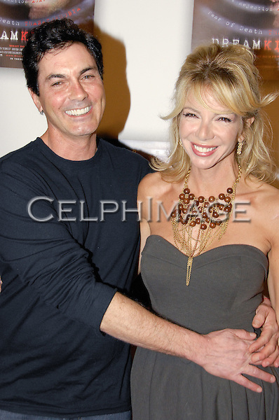 TYRONE POWER, JR., CARLA COLLINS. Arrivals to the World Premiere of Dreamkiller at the Arclight Hollywood Cinema, Los Angeles, CA, USA. February 17, 2010.