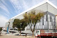 CURITIBA, PR, 21.05.2014 -  VISITA FIFA / ARENA DA BAIXADA / CURITIBA - Vista da Arena da Baixada na manhã desta quarta-feira (21) duranre a vista do secretário-geral da Fifa, Jérôme Valcke, a última vistoria antes de a entidade máxima do futebol assumir a propriedade temporária da Arena. Estádio que receberá 4 jogos pela copa do Mundo FIFA 2014.  (Foto: Paulo Lisboa / Brazil Photo Press)