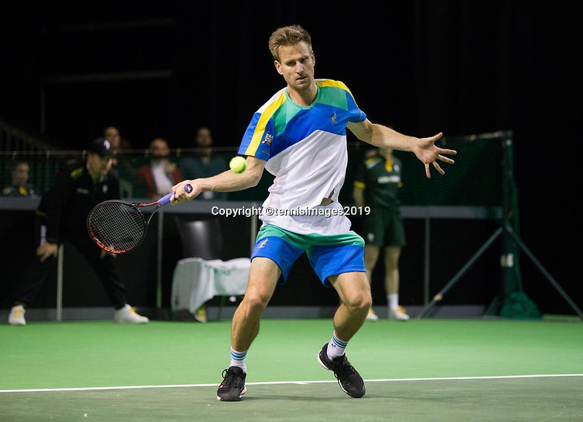 Rotterdam, Netherlands, 9 februari, 2019, Ahoy, Tennis, ABNAMROWTT, PETER GOJOWCZYK (GER)  Photo: Henk Koster/tennisimages.com