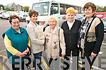INCLUSION: Members of the Glencar community who avail of the Kerry Community Transport bus project rom Glencar to Killorglin..L/r Sheila Daly, Elma Griffin (South Kerry Development Worker with Kerry Community Transport), Kathleen Murphy, Nora Mahony and Nora Foley    Copyright Kerry's Eye 2008