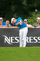 Matthew Fitzpatrick (ENG) on the 6th tee during Round 1 of the D+D Real Czech Masters at the Albatross Golf Resort, Prague, Czech Rep. 31/08/2017<br /> Picture: Golffile | Thos Caffrey<br /> <br /> <br /> All photo usage must carry mandatory copyright credit     (&copy; Golffile | Thos Caffrey)