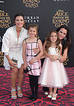 "Kyle Richards and Portia Umansky,Estela Ines Monteverde and Ali Landry attends The Premiere Of Disney's ""Alice Through The Looking Glass"" held at The El Capitan Theatre  in Hollywood, California on May 23,2016                                                                               © 2016 Hollywood Press Agency"