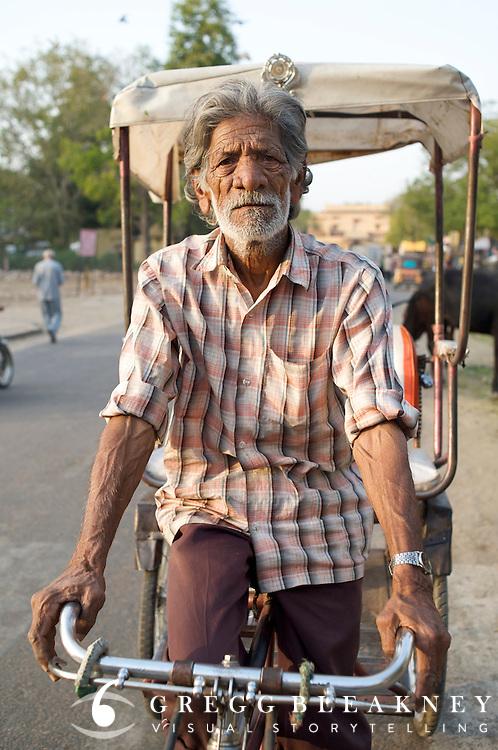 Rickshaw Wallah - jaipur, India