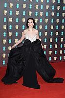 Charlotte Carroll<br /> arriving for the BAFTA Film Awards 2020 at the Royal Albert Hall, London.<br /> <br /> ©Ash Knotek  D3554 02/02/2020