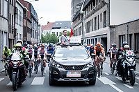 race start.<br /> <br /> GP Marcel Kint 2019 (BEL)<br /> One Day Race: Kortrijk – Zwevegem 188.10km. (UCI 1.1)<br /> Bingoal Cycling Cup 2019