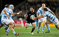 Rugby World Cup Auckland  New Zealand v Argentina Quarter Final 4 - 09/10/2011.Piri Weepu  (New Zealand)  .Photo Frey Fotosports International/AMN Images