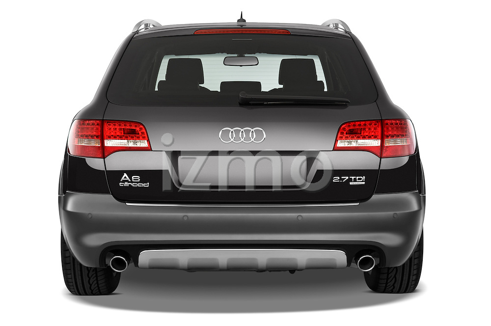 Straight rear view of a 2006 - 2011 Audi A6 ALLROAD QUATTRO Avus 5-Door Wagon 4WD