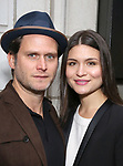 Steven Pasquale and Phillipa Soo attend the Broadway Opening Night of  'Saint Joan' at the Samuel J. Friedman Theatre on April 25, 2018 in New York City.