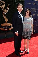 PASADENA - APR 30: Dr. Mehmet Oz, Lisa Oz at the 44th Daytime Emmy Awards at the Pasadena Civic Center on April 30, 2017 in Pasadena, California